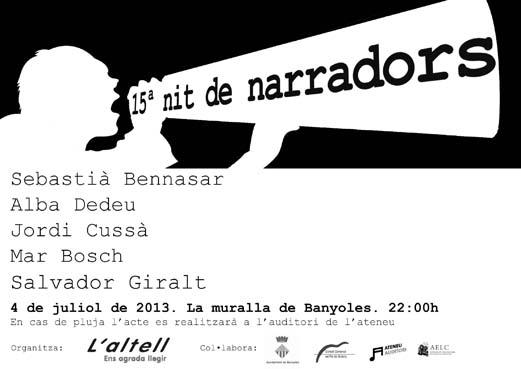 cartell 15 nit de narradors