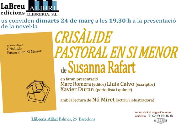 Crisàlide Susanna Rafart Alibri