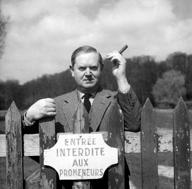 EVELYN-WAUGH-CHATEAU-ST-FIRMIN-CHANTILLY-APRIL-1955-1-c27716