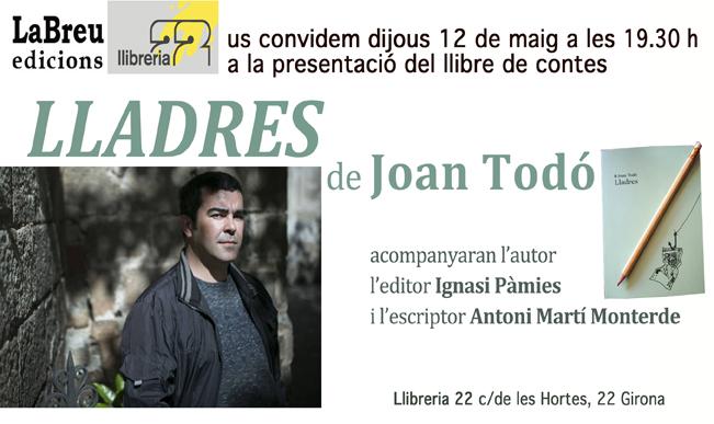 Lladres Joan Todó LLibreria22