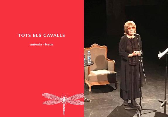 la mallorquina Antònia Vicens, Premio Nacional de poesia per TOTS ELS CAVALLS